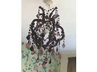 Next purple chandelier 2 available