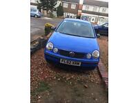 Quick Sale VW POLO Lady Owner Low Mileage