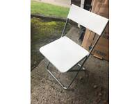 4 x foldable chairs