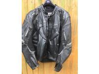 IXS leather motorcycle jacket
