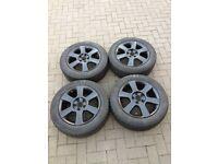 "16"" Winter Wheels + Tyres for Skoda VW SEAT Audi"