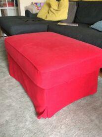 Large Ikea Footstool with storage