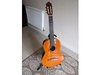 Acoustic guitar - Yamaha CX40 Electric acoustic