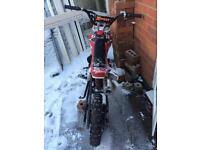 X port pit bike 110 cc