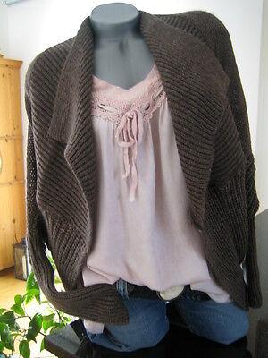 Wende Cardigan ITALY S M NEU Alpaka Lana Strickjacke Blogger MUSTHAVE Knit online kaufen
