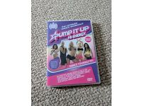 Ministry of sound workout DVD , pump it up hi energy