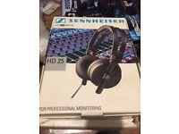 Sennheisser HD 25 headphones