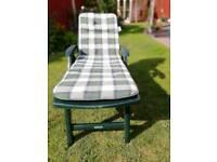 Garden relaxing chairs