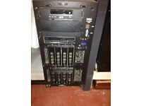 dell power edge tower server, 4x 36gb hard driver Dell PowerEdge 2800 Server Tower 2x2.8 DC 3x73GB