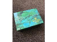 Rolex Datejust Submariner Daytona Box Green Wave, *Postage Available*