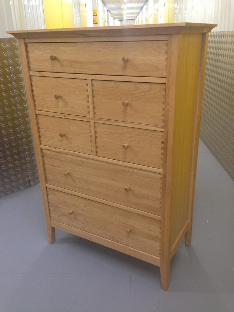 John Lewis Essence Solid Oak Chest Of Drawers Dresser Sideboard Laura Ashley Habitat Raft Oka