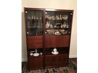Rosewood Lounge Dining Room Display/Storage Cabinet