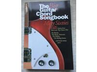 60s chord and song book
