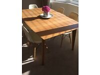 Gorgeous Extendable Dining Table- Modern Scandi Style