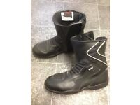 size UK 5, US 6 EU 39 Black Spada Motorbike boots worn once