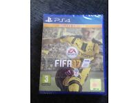 PS4 FIFA 17 brand new not been opened