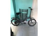 like new 5 speed lightweight folding bike