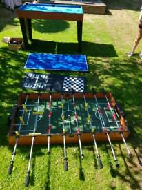 multi game table football
