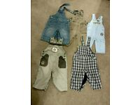 Boy's dungarees collection 69 to 80cm