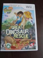Wii game Great Dinosaur Rescue