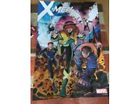 X men/ marvel promo posters large.
