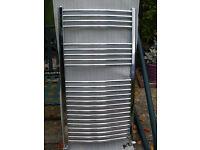 Chrome Towel Rail - Radiator