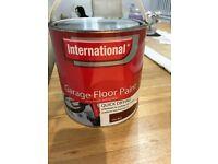 Unused Full Tin 2.5 Litres TILE RED Garage Floor Paint