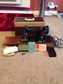 Singer 1950s sewing machine