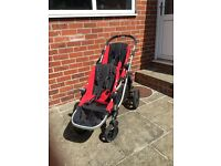 Baby Jogger City Select Double Pushchair - Red