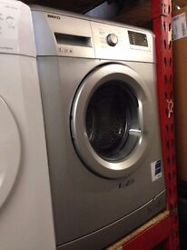 BEKO 7KG 1200 SPIN A+ WASHING MACHINE SILVER RECONDITIONED