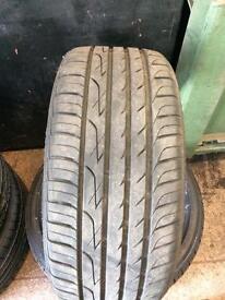 225 40 18 Three-A tyre x2