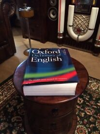 Large Oxford English Dictionary £1