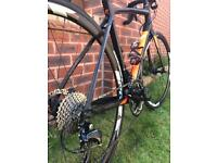 8 month old Giant Contend SL1 disc road bike for sale