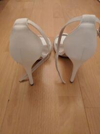 White Stilettos - UK Size 8
