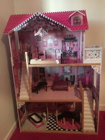 Large dolls house for sale