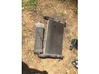 Ford transit mk7 2006-2014 radiator/intercooler and fan