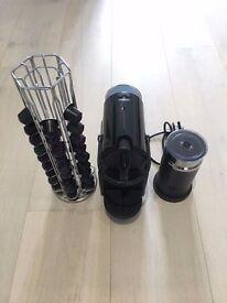 Magimix Nespresso Inissia Coffee Machine with Aeroccino - Black