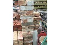 Red handmades bricks