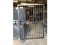 Metal gate security grill burglar bar
