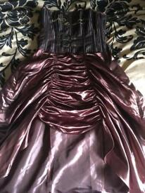 Steampunk dress size large