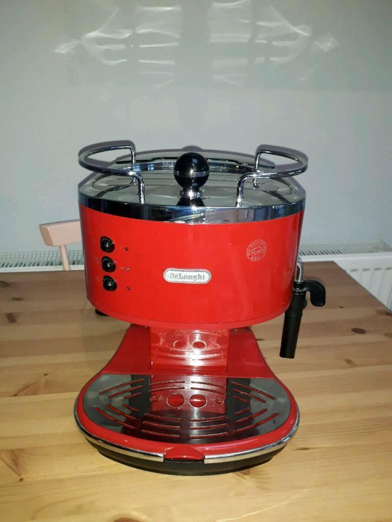 Delonghi Icona Micalite Coffee Machine Red In Kingston London Gumtree