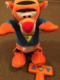 Remote Control Talking Tigger Toy