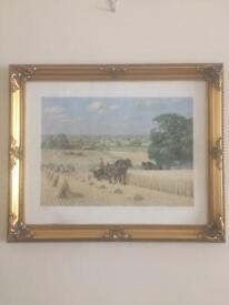 Robin Wheeldon's Harvesting Print 1920