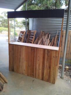 Lemonade stand made to order from pallet wood with blackboard top Lonsdale Morphett Vale Area Preview