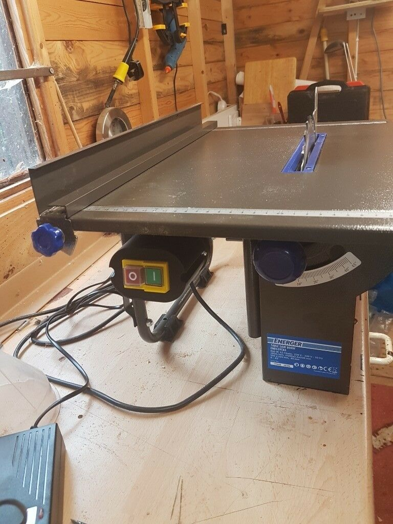 Energer table saw 200mm almost new in stockton on tees county energer table saw 200mm almost new greentooth Choice Image