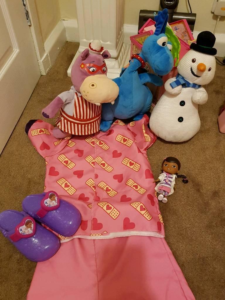 Disney doc Mcstuffins toy bundle