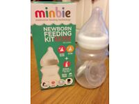 Minbie bottle - only used a few times, in original box
