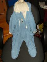 Cosy lined George snowsuit--size 9-12 months