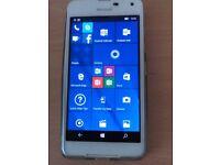 Microsft Lumia 650. Unlocked ,Boxed with receipt