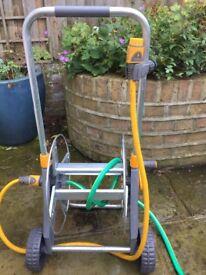 Hozelock Garden hose cart